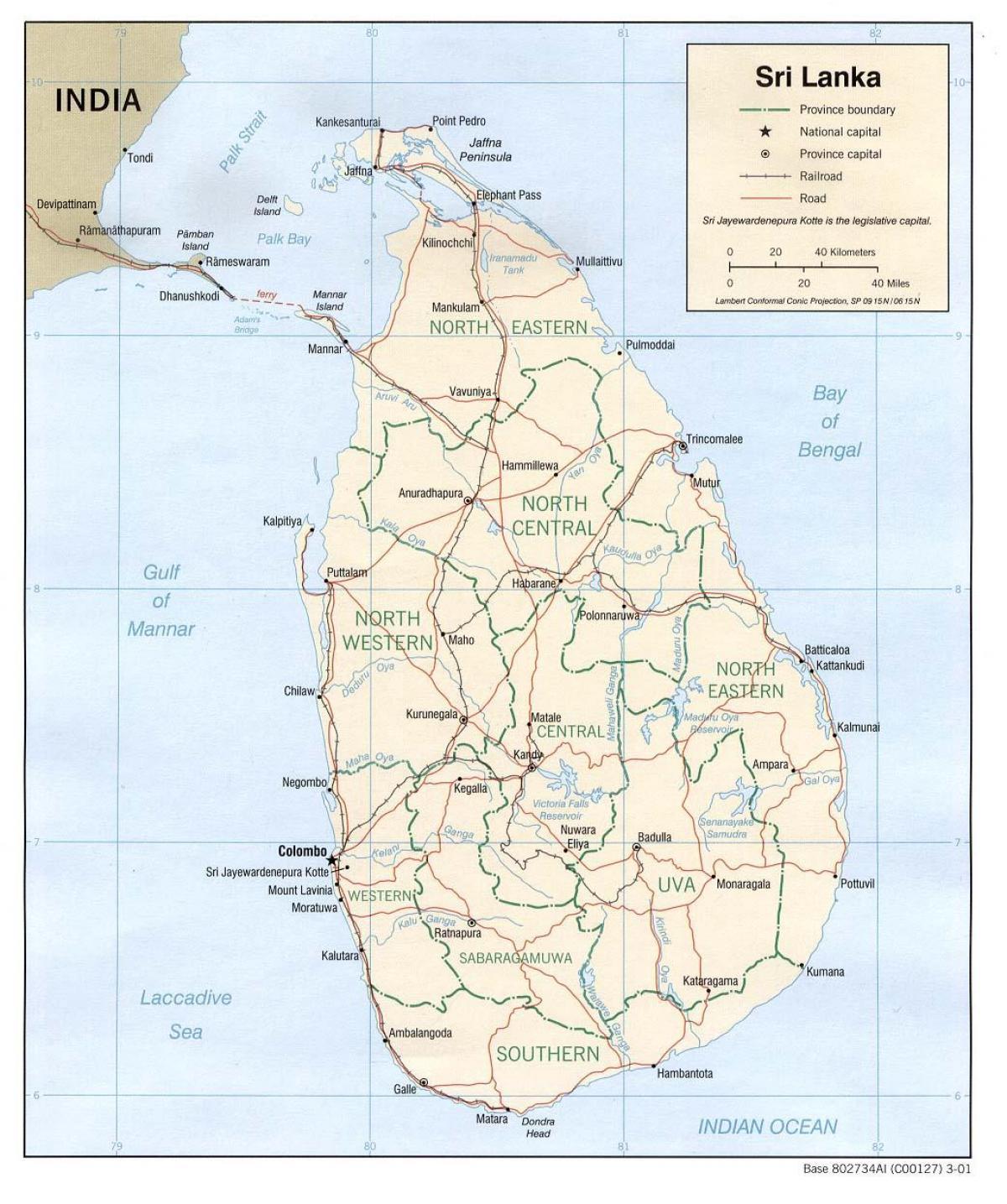 Gps Kartta Sri Lanka Sri Lanka Gps Kartta Verkossa Etela Aasia